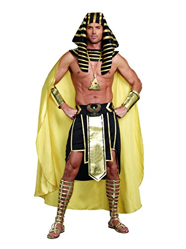 Dreamguy by DG Brands Men's Elaborate Egyptian King Tut Costume, King Of Egypt