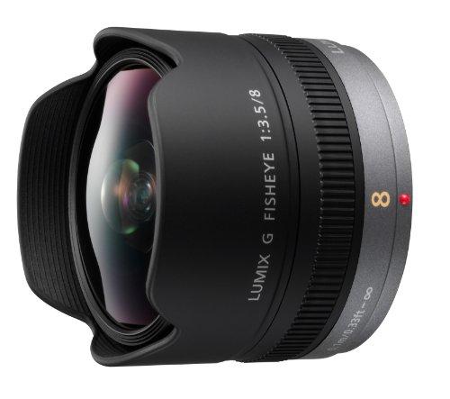 Panasonic 8mm f/3.5 ED Fisheye Lens for Lumix G Micro Four Thirds Digital Cameras