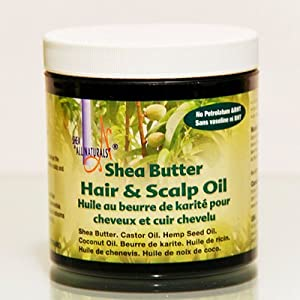 shea butter hair and scalp oil home kitchen