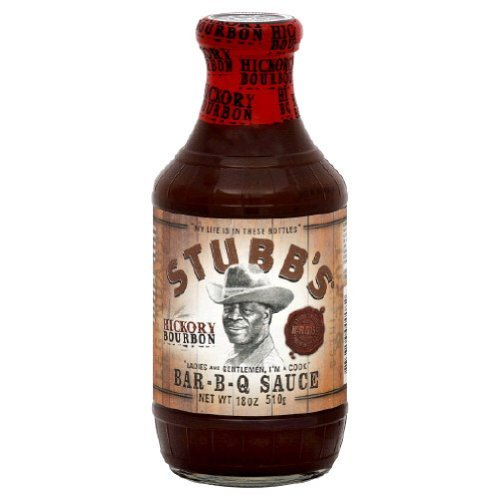 Stubbs, Sauce BBQ Hickory Bourbon, 18-Ounce (Pack Of 2)