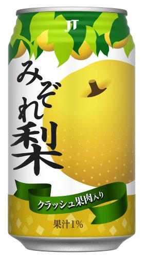 みぞれ梨 (缶) 350g×24本