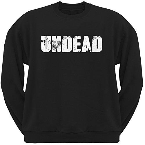 Halloween Undead Black Adult Sweatshirt - Large