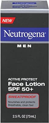 Best Cheap Deal for Neutrogena Men's Active Protect Face Lotion SPF 50+, 2.5-Ounces by Johnson & Johnson SLC - Free 2 Day Shipping Available