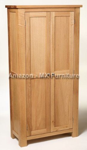 New Large Solid Oak Storage / Filing Shoe Toy Cabinet / Cupboard