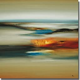 Calm Scape by Lisa Ridgers Premium Stretched Canvas (Ready to Hang)
