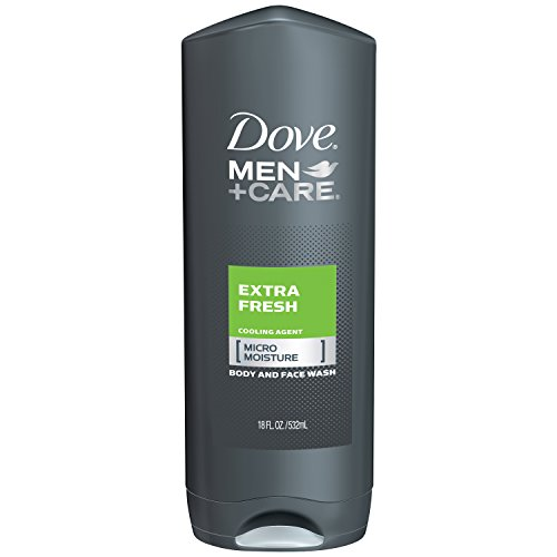 Dove Men+Care Body and Face Wash, Extra Fresh 18 o…