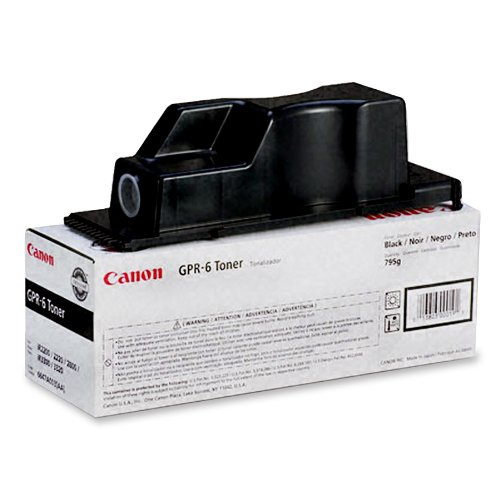 Learn More About Canon GPR-6 Toner for Select ImageRunner Copiers, Black (6647A003AA)