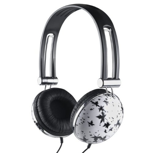 Qoopro G-012D Super Bass Headphones With Leaf Design