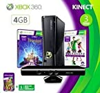 Microsft Xbox 4GB Kinect Bundle with 4 Freebie Games
