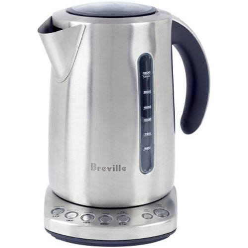 Breville Brushed Stainless Steel Variable Temperature Kettle (Tea Kettle Electric Breville compare prices)