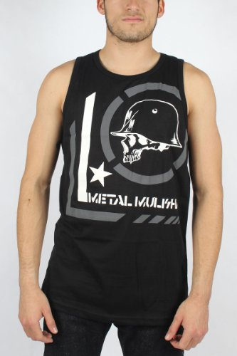 Metal Mulisha - Mens Era Tank Top in Black, Size: Large, Color: Black