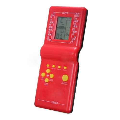 TOOGOO(R) Tetris Game Hand Held LCD Electronic Game Toys Brick Classic Retro Games Gift