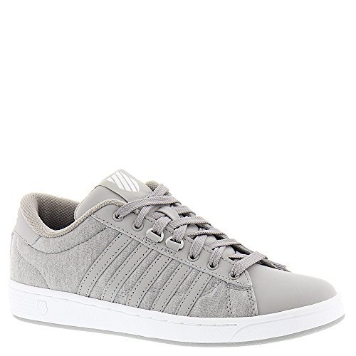 K-Swiss Women's Hoke Heather CMF Fashion Sneaker, Gray/Paloma/White, 7 M US