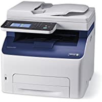 Xerox WorkCentre 6027/NI Color Laser All-in-One Printer with Duplex (White)