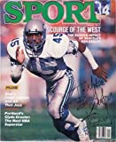 Signed Easley, Kenny (Seattle Seahawks) Sport Magazine 01/1986 (Personalized - To Mike) at Amazon.com