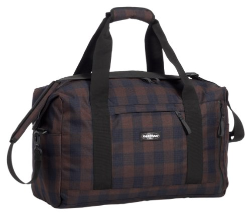 Eastpak Reisetasche STEWARD, Blue/BrownCheck,