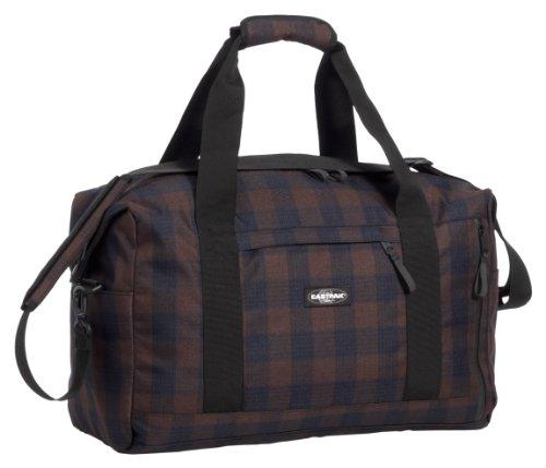 Eastpak Reisetasche STEWARD, Blue/BrownCheck,