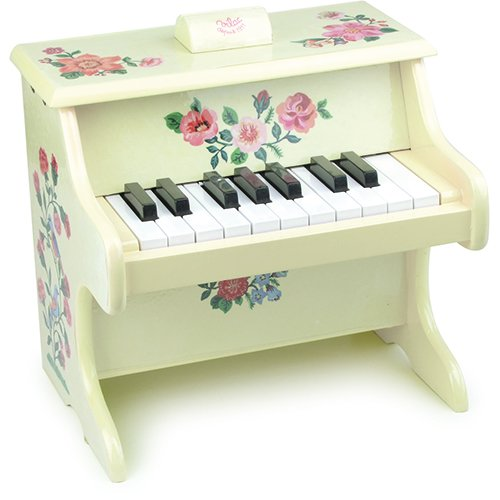 Vilac Nathalie Lete Piano Musical Toy with Scores - 1