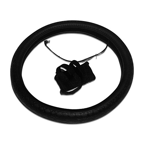 Battery Operated Heated Steering Wheel Cover Half Wheel Heated (Used Wheel Cover compare prices)