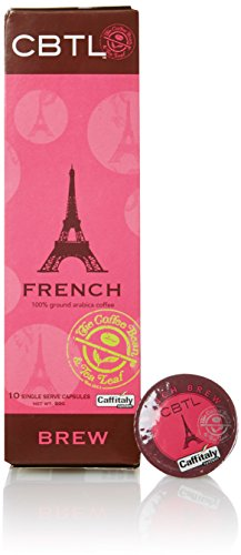 Cbtl French Brew Coffee Capsules By The Coffee Bean & Tea Leaf, 10 Count Box