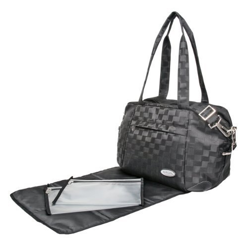 Mabyland Luxury Mini Elite Changing Bag Set (Black) by MaByLand