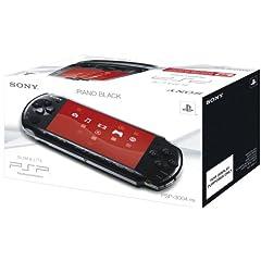 PSP Konsole Slim & Lite 3004 Piano Black