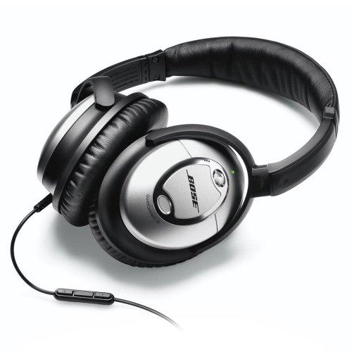 【国内正規流通品】BOSE QuietComfort15 ノイズキャンセリング・ヘッドホン (スタンダードオーディオケーブルおよびApple製品専用マイク/リモコン付きオーディオケーブル付属) QuietComfort15-S