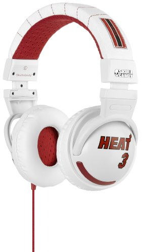 Skullcandy SGHEBZ-17 Hesh Over-Ear Headphone with In-Line Microphone and Control Switch - Dwyane Wade