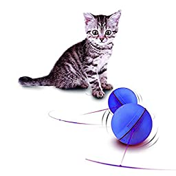 Darius The Best Interactive Electronic LED Light Flash Rolling Ball Cat Toys