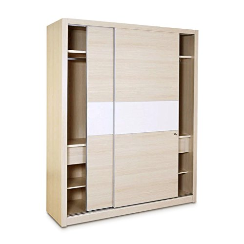 HomeTown Oyester Sliding Wardrobe (Oak)