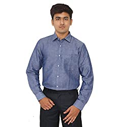 Kriss Sport Solid Men's Formal Linen Slim Fit Shirt
