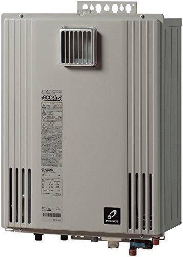 PURPOSE ふろ給湯器 GXシリーズ ECOジョーズ 屋外壁掛形 設置フリー オート 24号 GX-H2400AW(都市ガス(13A))