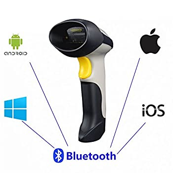 UPGRADED 2 in 1 1d Laser USB 2 0 wired + Wireles Bluetooth