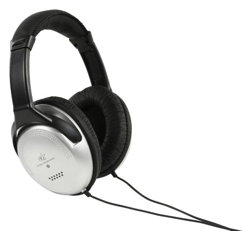 HQ HiFi Headphones with 6m Cable 40mm Neodymium Drivers and volume Control