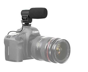 Richtmikrofon 90° - 120° Microphone/ Mikrophon für DSLR Kameras