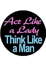 Think Like A Man pinback button