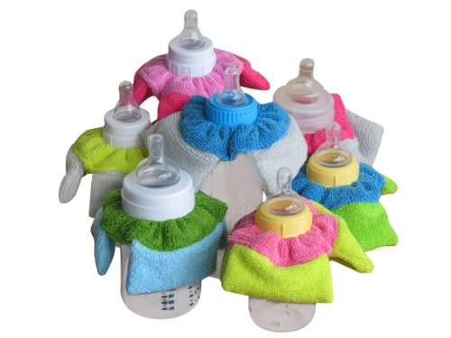 BUNCHEES Baby Bottle Bibs (set of 2) - 1