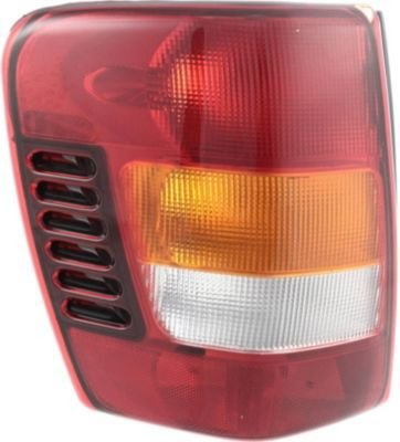 Evan-Fischer Eva15672027417 Tail Light Driver Side Lh Plastic Lens Oe Design Amber, Clear, Red Dot, Sae Approved
