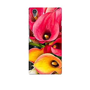 ArtzFolio Calla Lily Flowers : OnePlus X Matte Polycarbonate Original Branded Mobile Cell Phone Designer Hard Shockproof Protective Back Case Cover Protector