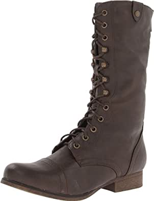 Madden Girl Women's Gizmoo Boot,Brown Paris,6 M US