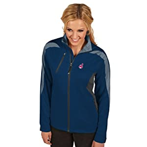 MLB Cleveland Indians Ladies Discover Jacket by Antigua