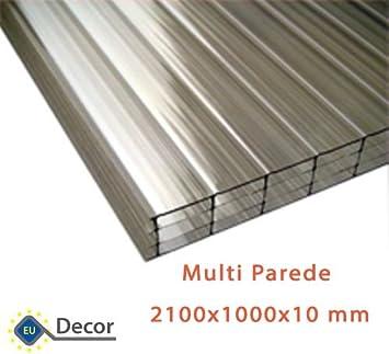 Placa de policarbonato alveolar makrolon multi parede - Techo transparente policarbonato ...