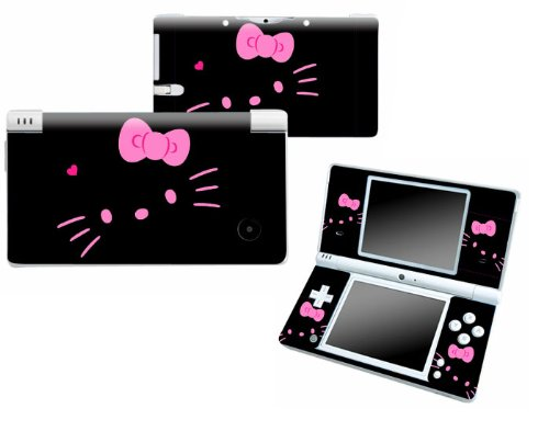 Bundle Monster Nintendo Ndsi Dsi Nds Ds i Vinyl Game Skin Case Art Decal Cover Sticker Protector Accessories - Pink Kitty Cat