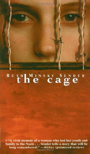What is the main theme of the book The Cage by Ruth Minsky Sender?