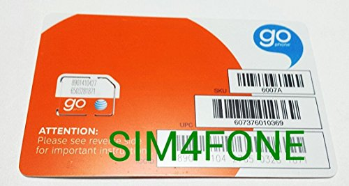 At&t Go Phone Micro SIM Card (Att Go Phone Starter Kit compare prices)