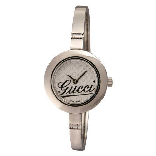[グッチ]Gucci 腕時計 G-サークル 105R レギュラー ホワイト SS レディース YA105528 レディース 【並行輸入品】
