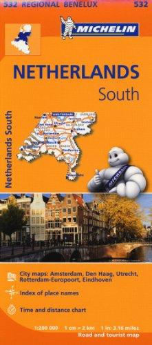 Zuid-Nederland / Pays-Bas Sud (Michelin Regional Maps)
