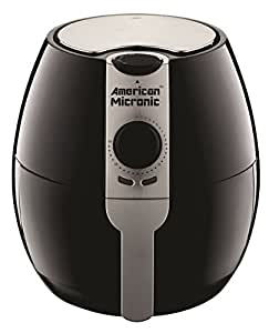 AMERICAN MICRONIC - 3.5 Liters Imported Air Fryer, 230V AC, 1500W, 30 Minutes timer with Variable temperature control, TurboTunnel Freshair technology- AMI-AF1-35LDx