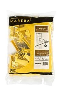 Zareba IW5XNY-Z Nail-on 5-Inch Extender Insulator, Yellow, 25 per Bag