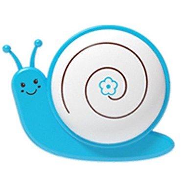 Ggb- Qidu Strange New American Standard Plug With Very Cartoon Led Plug-In Electric Small Night Light(The Snail Blue)